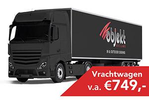 Objekt Reclame - Vrachtwagenreclame