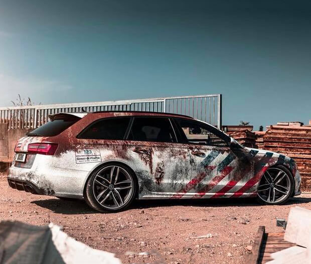 Objekt Reclame Carwrapping Audi