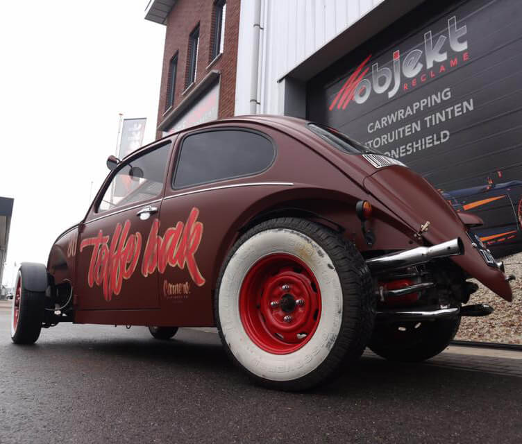 Objekt Reclame Carwrapping Hotrod