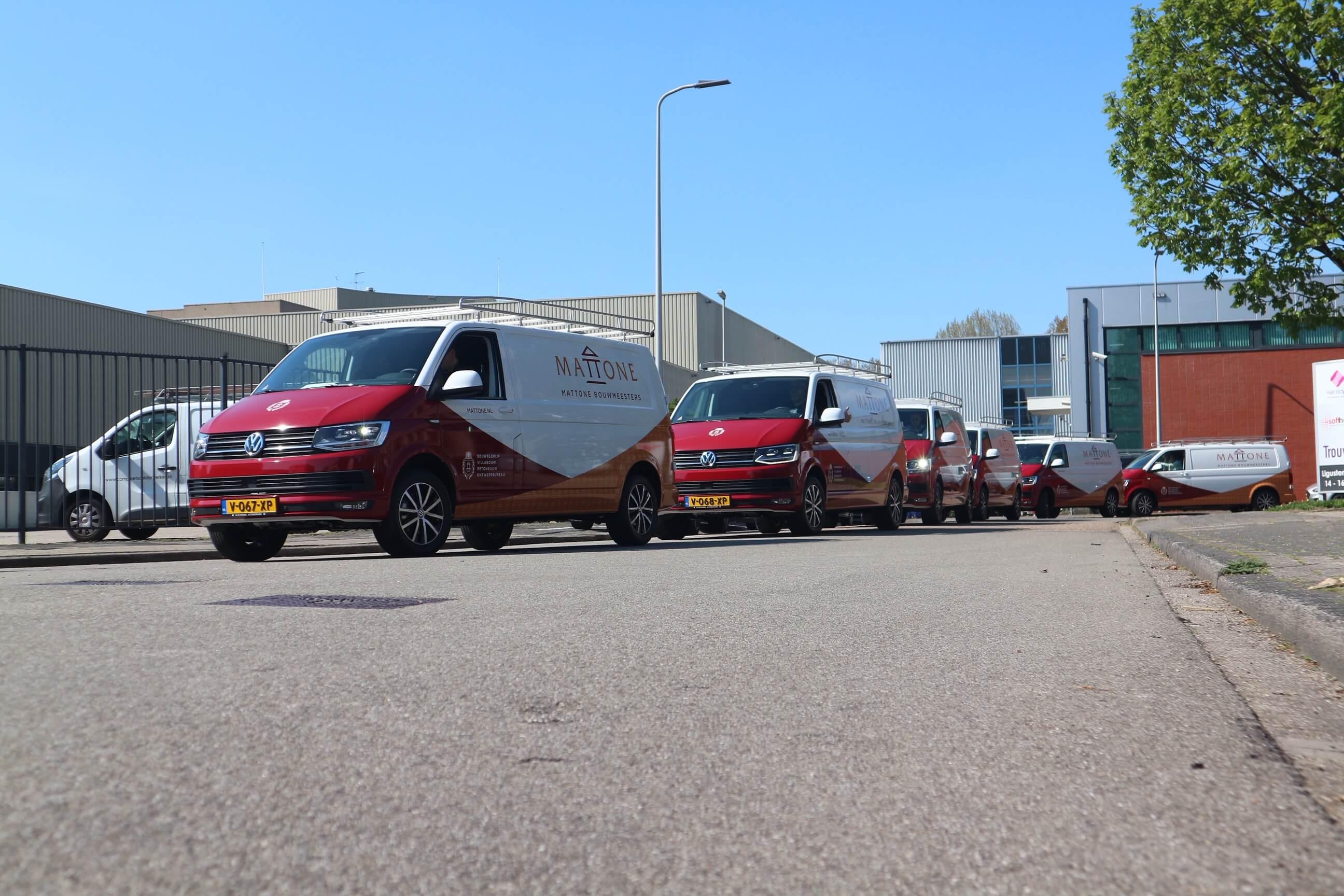 Autobelettering Volkswagen Transporter Objekt Reclame