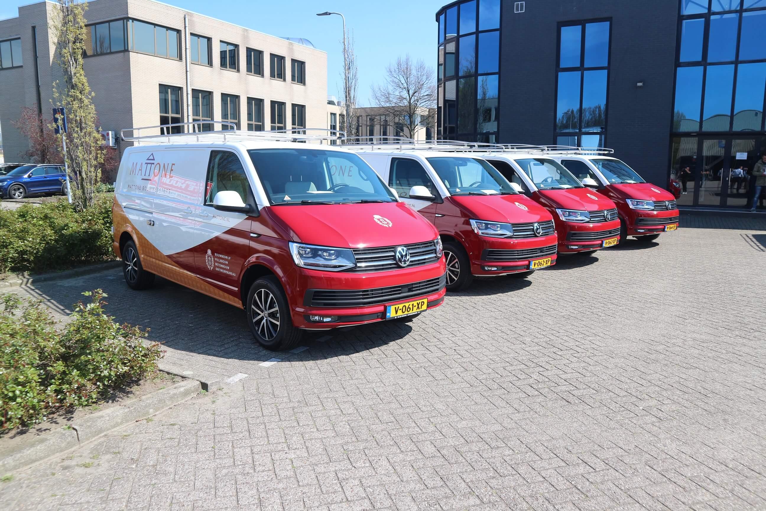 Autobestickering Mattone Volkswagen