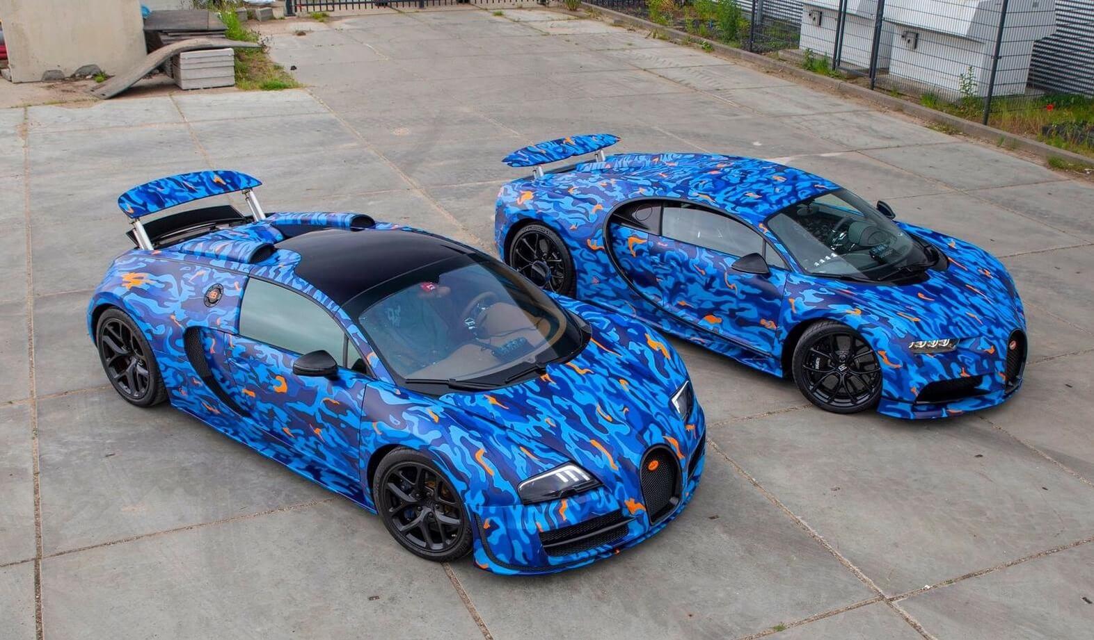 Autowrap carwrapping Bugatti Gumball Rally