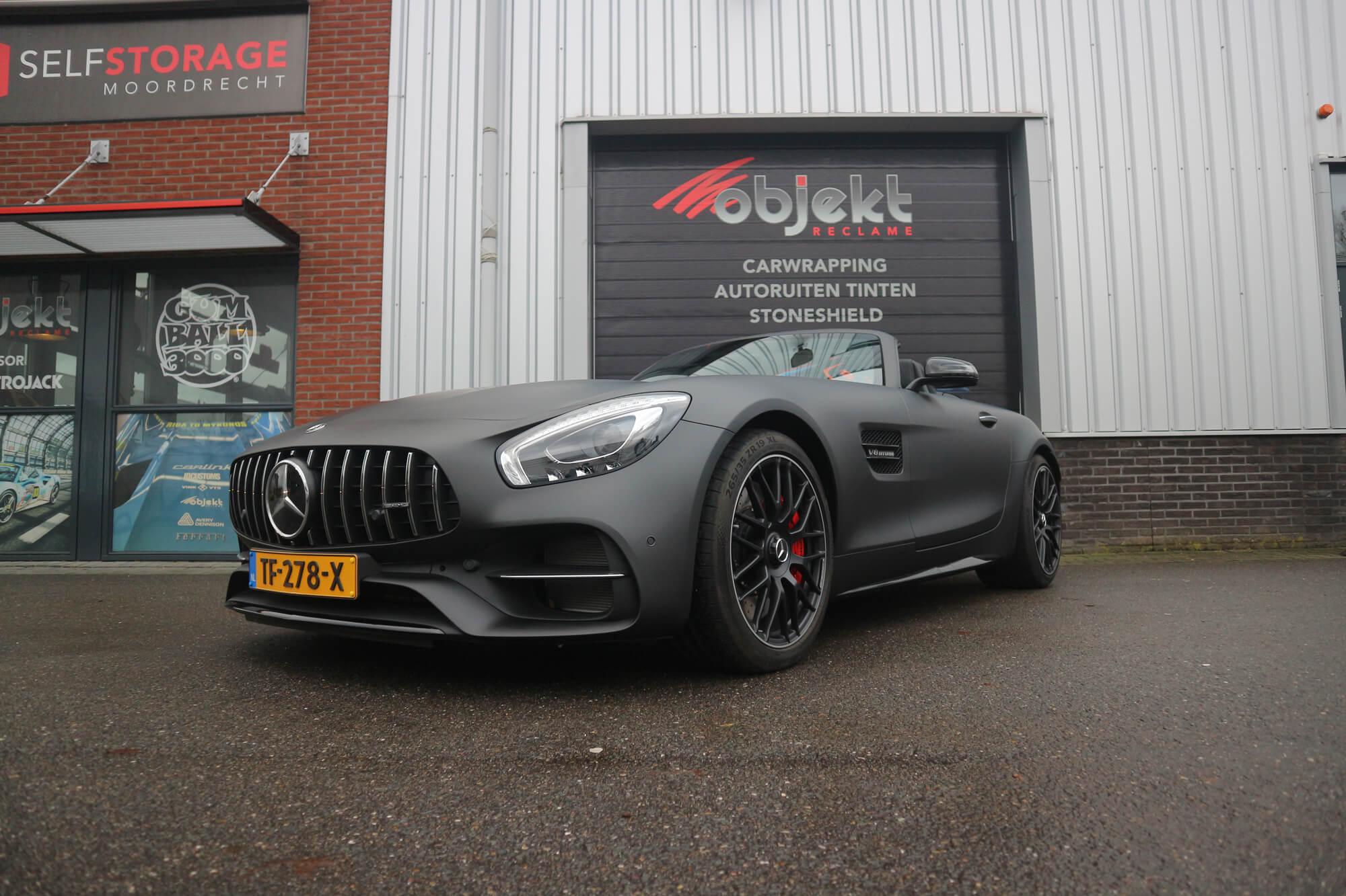 Autowrappen Mercedes AMG